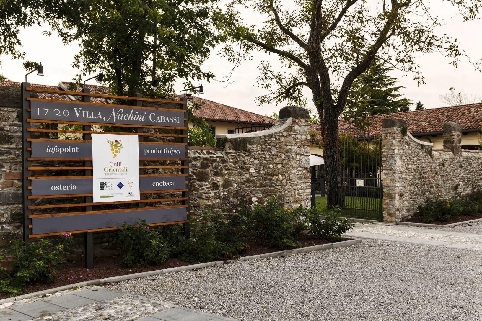 Villa Nachini Cabassi Nelle Colline Friulane A Vous Le Frioul