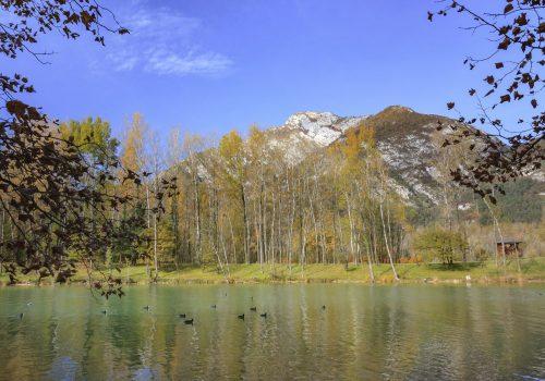 Lac de Cavazzo | Photographie des Archives A vous le Frioul, Ph. Massimo Sangoi