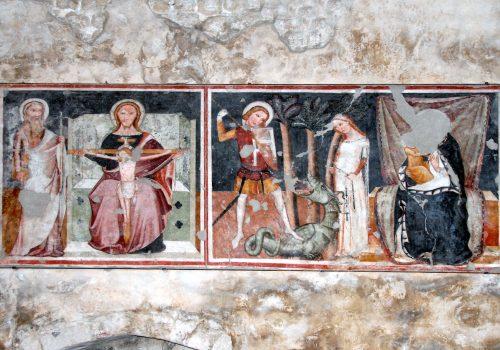 Affreschi Chiesa di Sant'Andrea Apostolo, Venzone
