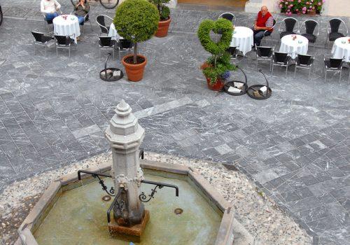 Piazza del Municipio, Venzone