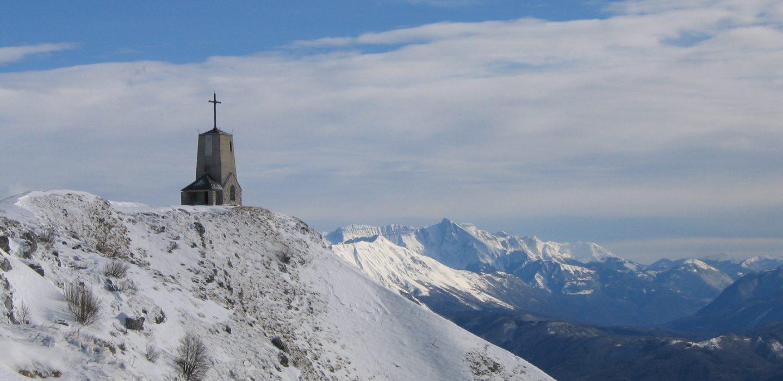 Chiesa del Redentore, Monte Cuarnan, Montenars | Ph. U.T.I. Gemonese