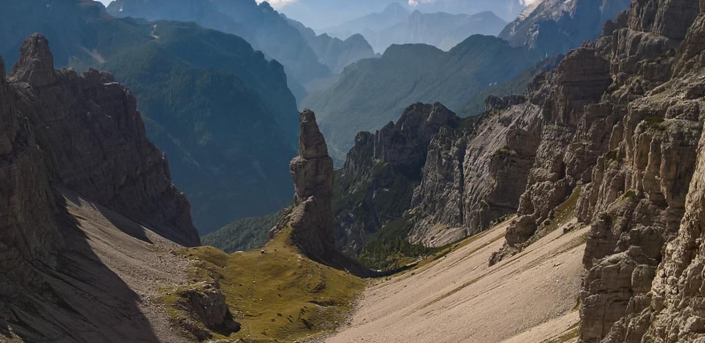 Campanile di Val Montanaia, Dolomiti Friulane   Ph. Comune di Cimolais
