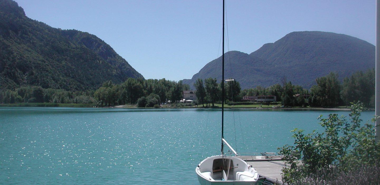 Lago dei Tre Comuni, Trasaghis   Ph. Uti Gemonese
