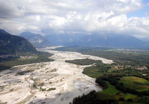 Veduta del Gemonese dal colle di Ragogna | Ph. Luigi Stefanutti